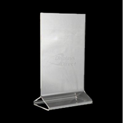 Clear Top Loading Table Tent Fits X Displays Direct - 4x6 table tent